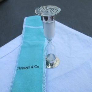 Tiffany & Co. Hour Glass Timers Rare